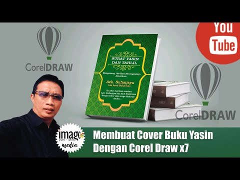 Download Video Membuat Cover Buku Yasin Dengan Corel Draw x7