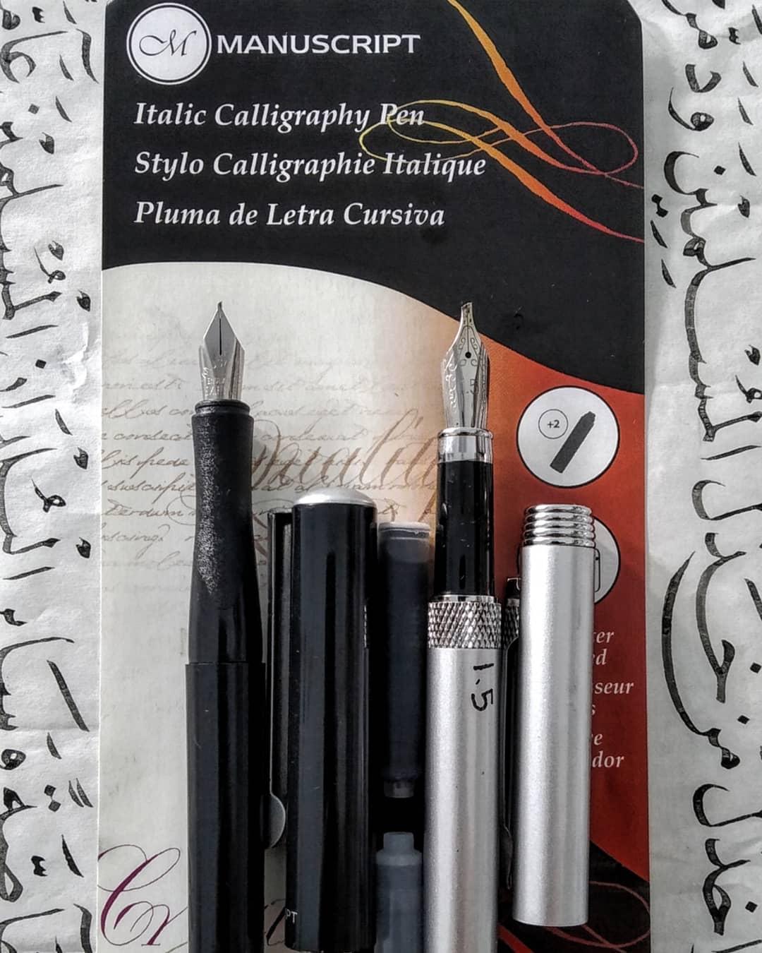 Foto Karya Kaligrafi Alhamdulillah terima kasih banyak ust @hasyim_calligraphypen  semoga berkah manf…- Teguh Prastio