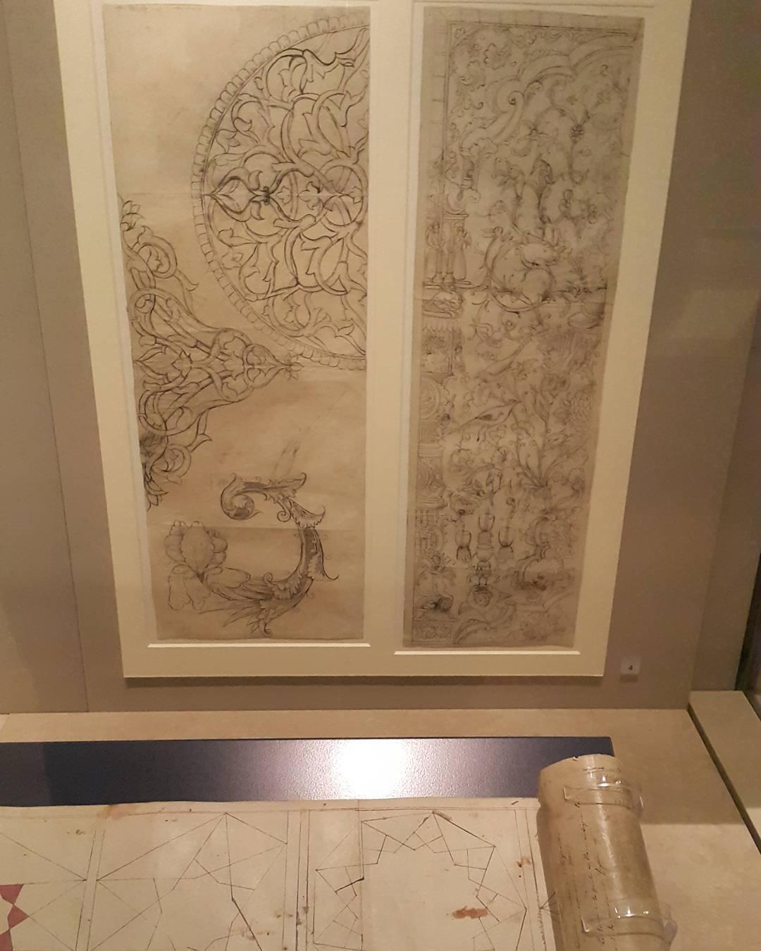 Khat Diwani Ajhalawani/Amr #زخرفة_اسلامية من إيران.  #متحف_فيكتوريا_أند_ألبرت  #لندن  #بريطانيا… 38