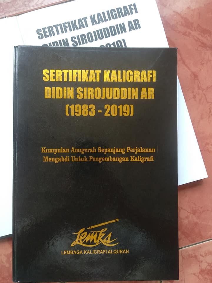 Koleksi 135 SERTIFIKAT KALIGRAFI pilihan, bahan bacaan di Gedung Pustaka Lemka. ... 1