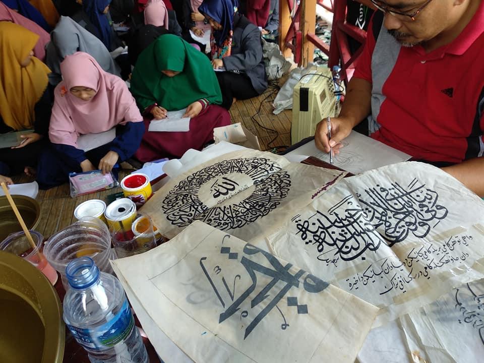 Kpd. Slrh. Civitas Akademika  Kampus Seniman Muslim  Pesantren Kaligrafi Alqur... 5