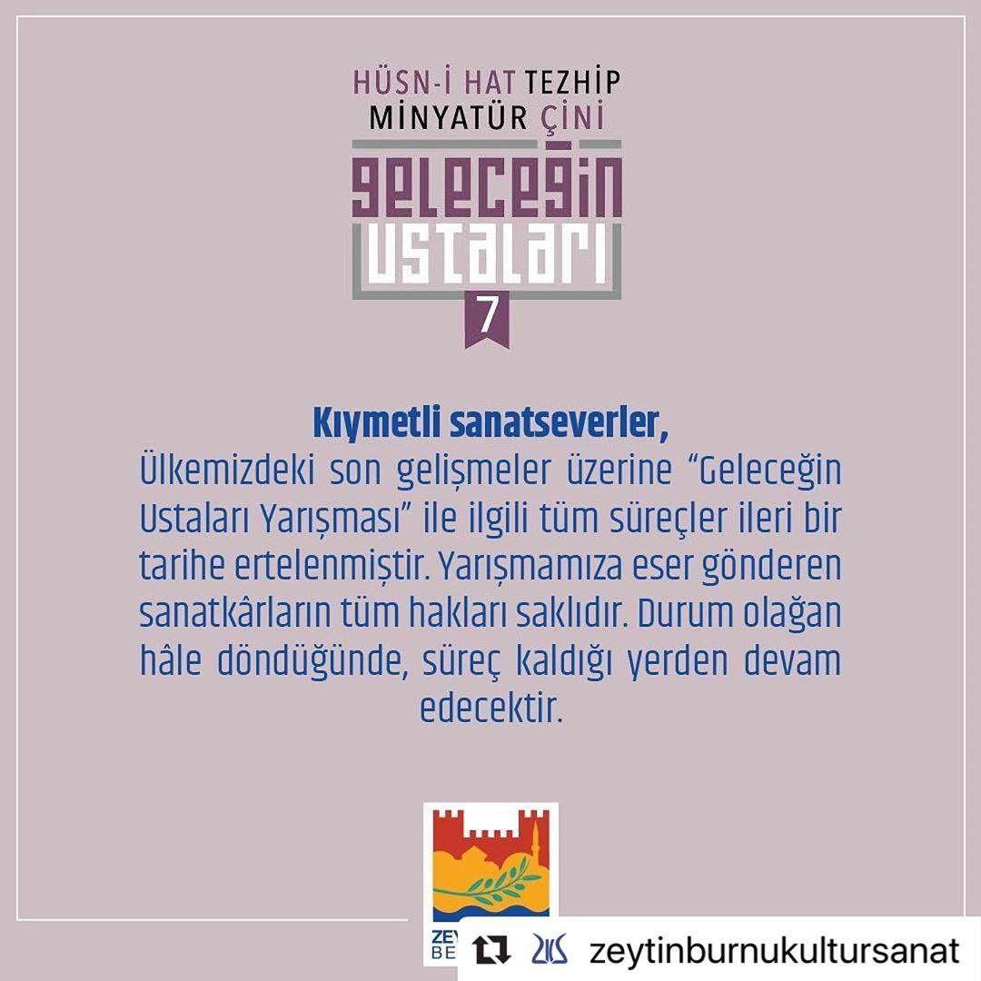 geleceginustalari #Repost @zeytinburnukultursanat with @make_repost ・・・ Kıymetli sanatseverler, Ü… 46