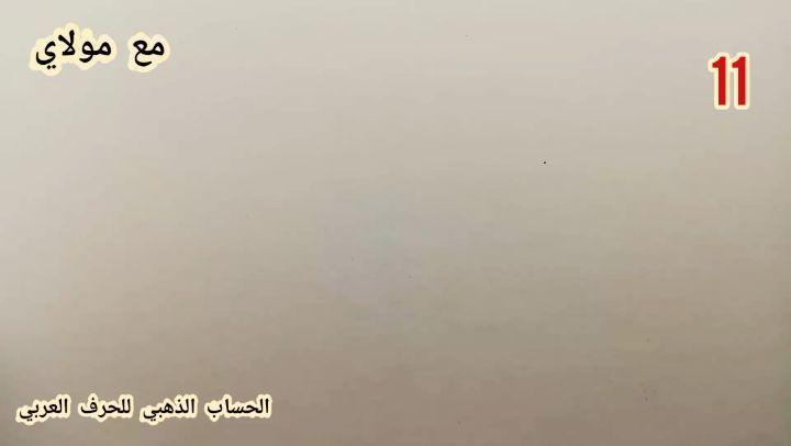 Arabic Calligraphy by Maulay Abdur Rahman  حرف الصاد في خط النسخ بطريقة (( الحساب الذهبي للحرف العربي))… 442