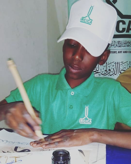 Donwload Photo Khat Unik Young student @ IRCICA Regional calligraphy center. West Africa… – Yushaa Abdullah