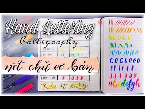 Download Video 8 Nét Cơ Bản khi tập viết Calligraphy | Basic Strokes | Hand Lettering with Chi