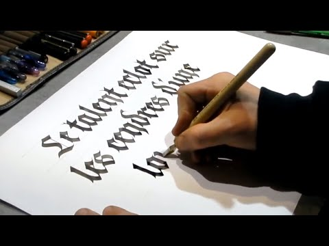 Download Video Amazing Automatic Pen Calligraphy ( Satisfying Modern Calligraphy Compilation )