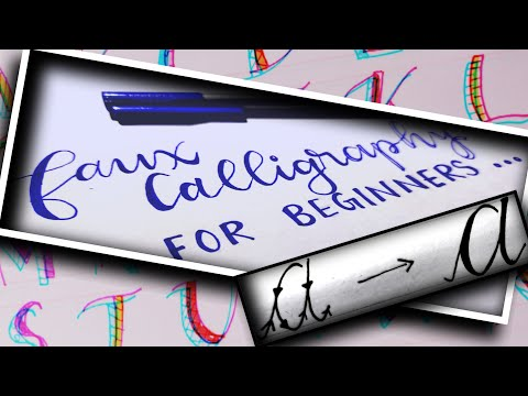 Download Video Faux Calligraphy For Beginners