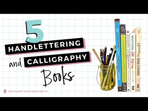 Download Video My 5 Best Hand Lettering & Calligraphy Book Recommendations