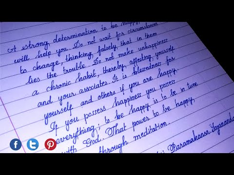 Download Video Neat cursive handwriting | Calligraphy | Stylish writer