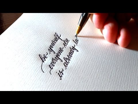 Download Video Satisfying Handwriting Video Compilation ( The Best Handwriting Calligraphy)