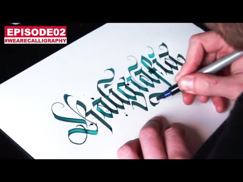 Download Video WLK ANSWERING QUESTIONS IN MODERN CALLIGRAPHY ( WE ARE CALLIGRAPHY 02 )