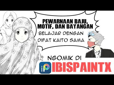 Download Video [ibispaintX] Trik Menggambar Anime dan Manga mudah untuk pemula || part 3