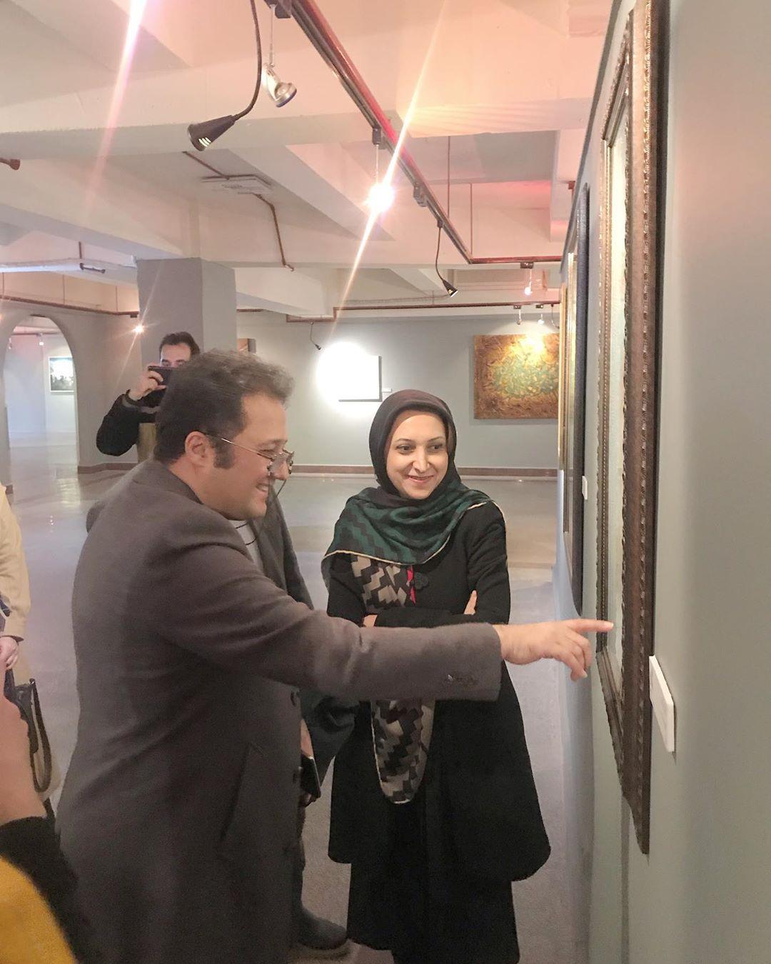Karya Kaligrafi  جشنواره هنرهای تجسمی فجر، درست یک روز قبل از جنجال بیماری افتتاح شد و در اوج نگ…- Ne Javaher