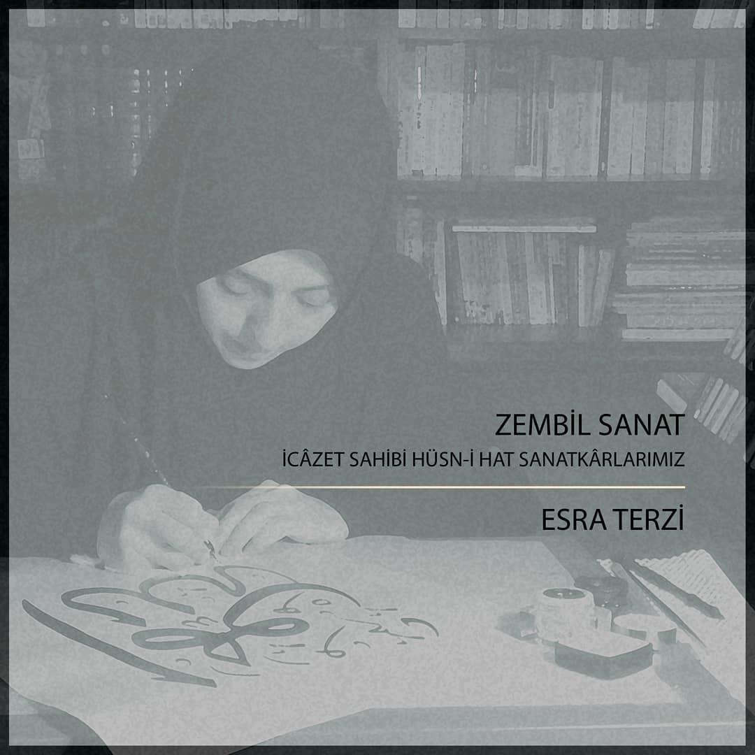 Donwload Photo Hocalarımızdan @esiterzi. . . #hüsnihat #hatsanatı #calligraphy #hat #islamiccal…- Zembil Sanat