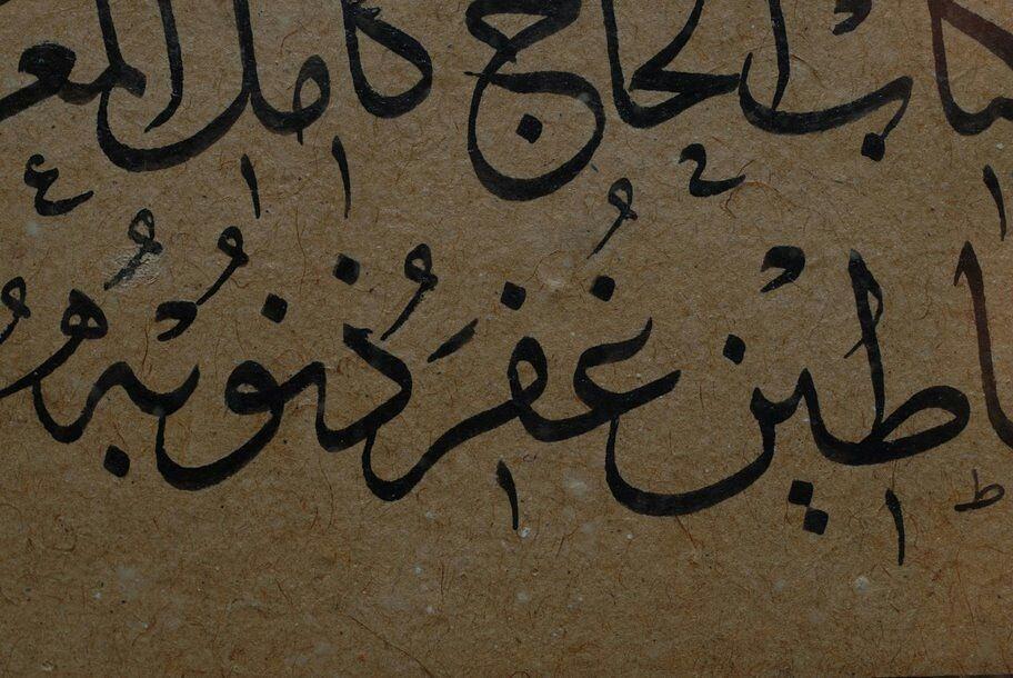 Khat Diwani Ajhalawani/Amr الحاج كامل… 153