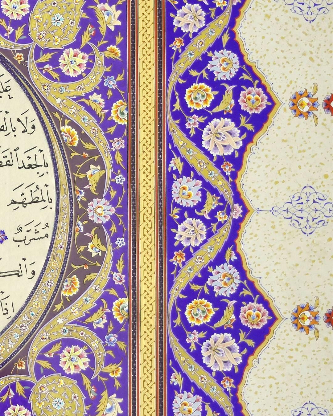Khat Diwani Ajhalawani/Amr جزء من زخرفة اوزباكستانية لحلية كتبتها… 189