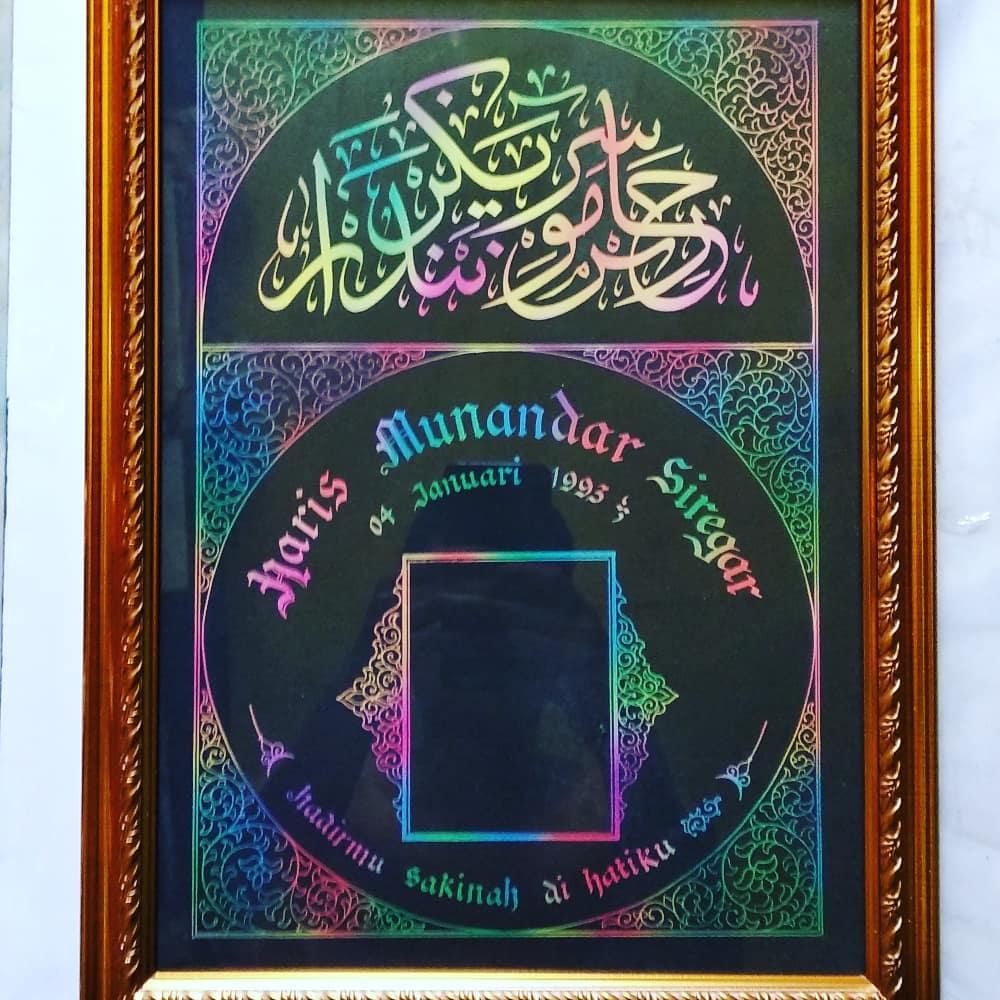 Works Calligraphy Taufik Hasibuan Minat chat aja.  Atau wa 085213984866… 20