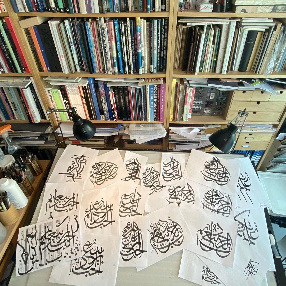 Download Kaligrafi Karya Kaligrafer Kristen بعض الدراسات والسكيتشات للكتابات التي نشرتها في الايام الماضية. Some of the stud…-Wissam