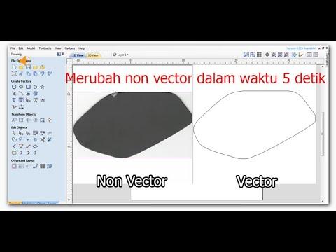 Download Video Belajar Aspire –  Mengubah Gambar Non Vector menjadi Vector