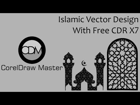 Download Video Islamic Vector Design For CorelDraw Part 1 || CorelDraw Master