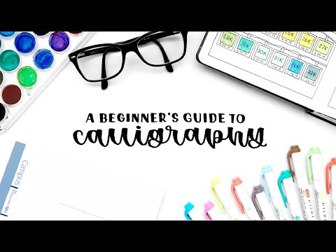 Download Video a beginner's guide to calligraphy ✍🏻 step by step advice