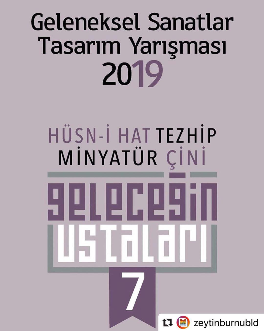 geleceginustalari #Repost @zeytinburnubld with @make_repost ・・・ 7. Geleceğin Ustaları Geleneksel ... 126 1
