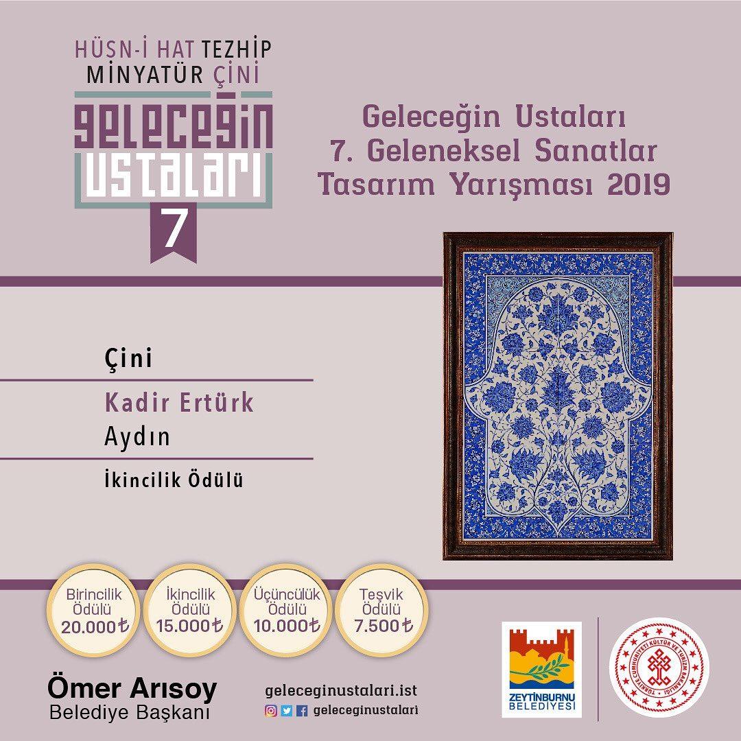geleceginustalari Zeytinburnu Belediyesi 7. Geleneksel Sanatlar Tasarım Yarışması'nın sonuçları … 97