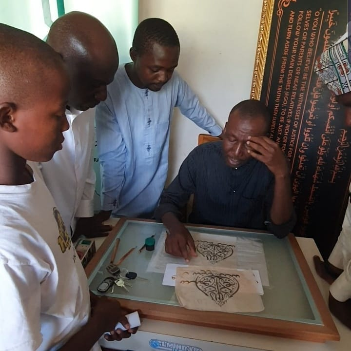 Donwload Photo Khat Unik From today's class at IRCICA Regional calligraphy center, West Africa …. – Yushaa Abdullah