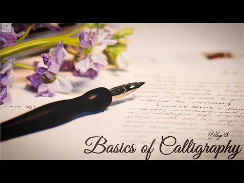Download Video Basic Calligraphy Strokes | Calligraphy Set & Tips and Tricks to learning Calligraphy Tutorial