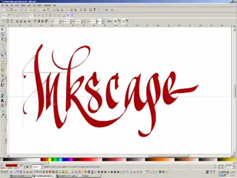 Download Video Inkscape – digital calligraphy exercise