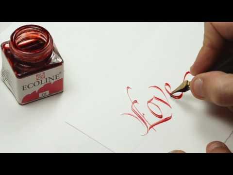 Download Video Italic Calligraphy Practice