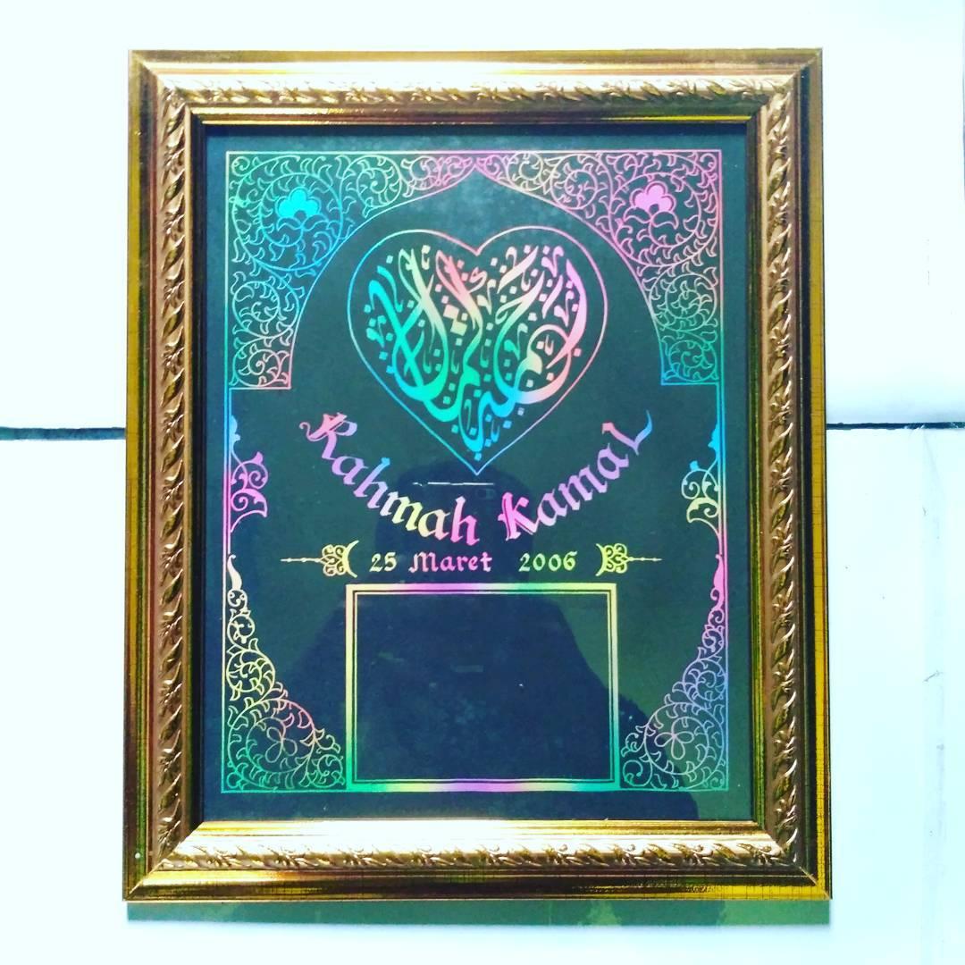 Works Calligraphy Taufik Hasibuan Yg minat… Silahkn hubungi ya..   Dm / wa 085213984866… 30