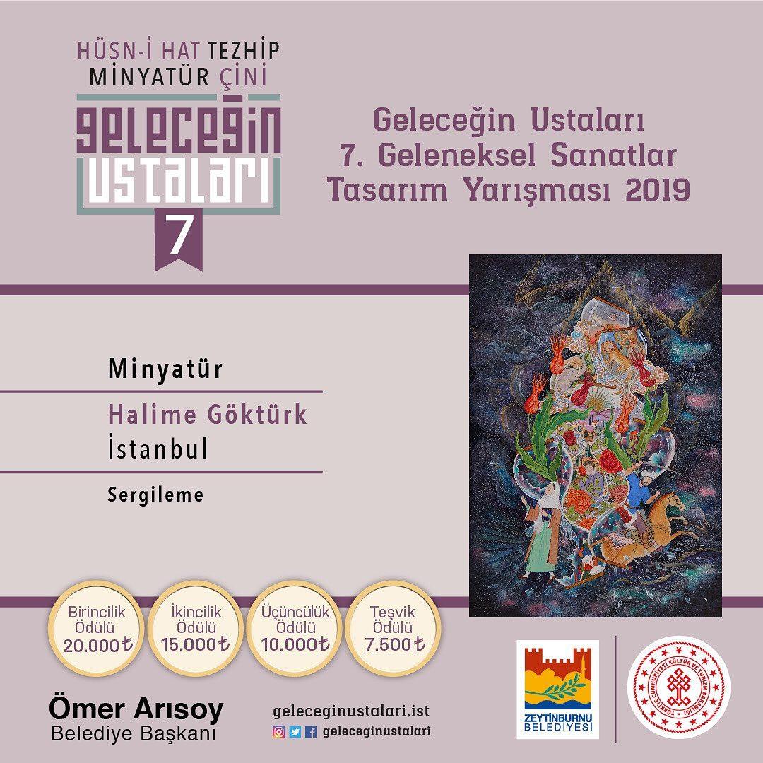 geleceginustalari Zeytinburnu Belediyesi 7. Geleneksel Sanatlar Tasarım Yarışması Minyatür Brans… 50