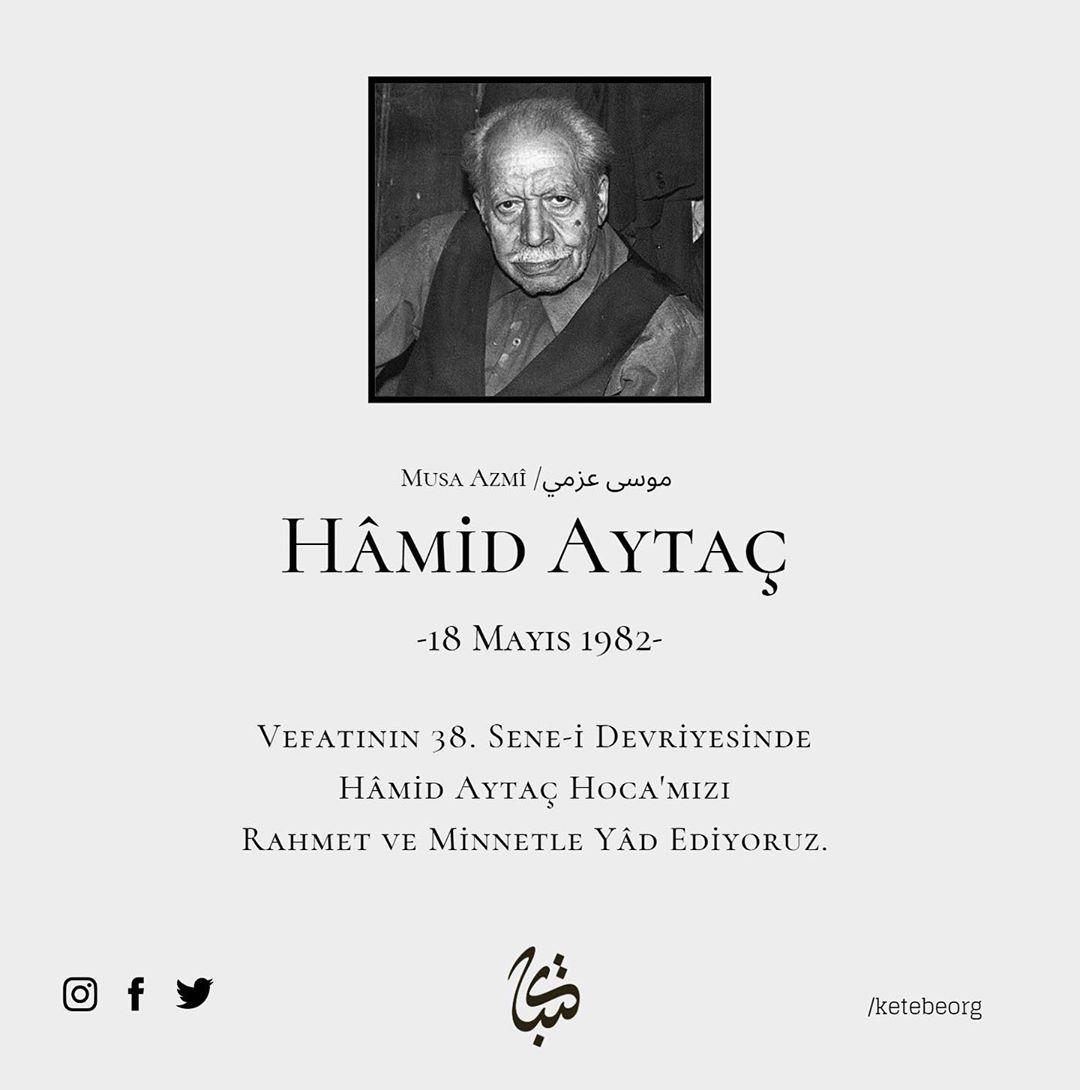 Apk Website For Arabic Calligraphy Vefatının 38. sene-i devriyesinde Hattat Hâmid Aytaç Hoca'mızı rahmet ve minnetl… 690