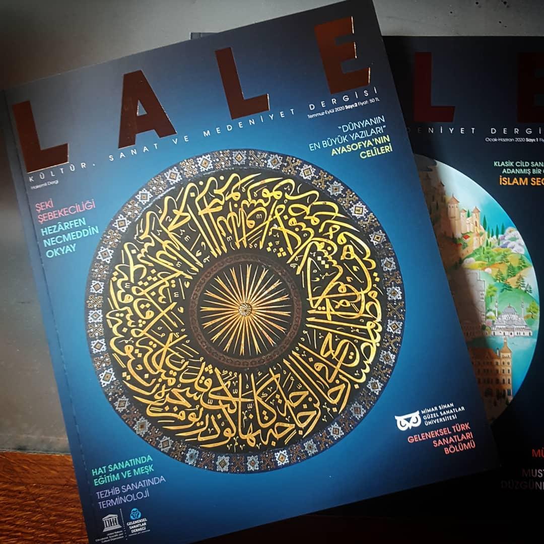 Donwload Photo @laledergi Genel Yayın Yönetmeni @ahmetakcan78 beyi bu güzel hizmetlerinden dola…- Hattat Mahmud