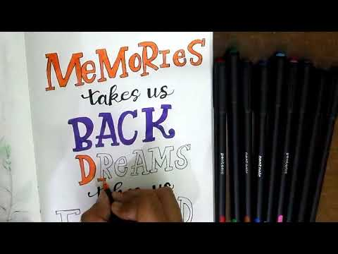 Download Video CALLIGRAPHY TUTORIAL | STEP BY STEP CALLIGRAPHY
