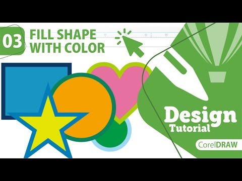 Download Video CARA MUDAH MEWARNAI OBJEK ATAU GAMBAR DI CORELDRAW || HOW TO FILL SHAPE WITH COLOR