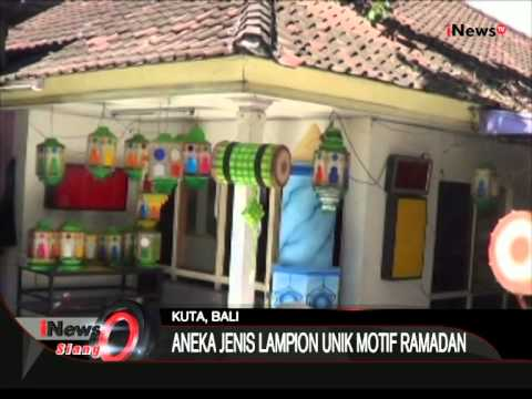 Download Video Lampion Unik Hiasan Hari Raya Lebaran – iNews Siang 03/07