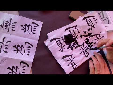 Download Video Practice Chinese Calligraphy