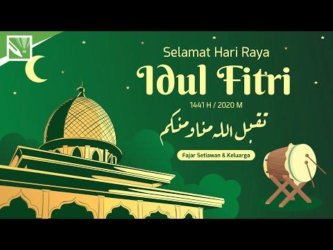 Download Video Tutorial DESAIN KARTU UCAPAN LEBARAN, Selamat Hari Raya Idul Fitri 2020 || Tutorial CorelDRAW X7