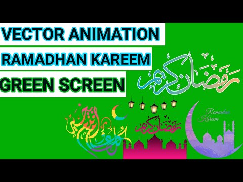 Download Video Video Animasi Vector Ramadan Green Screen