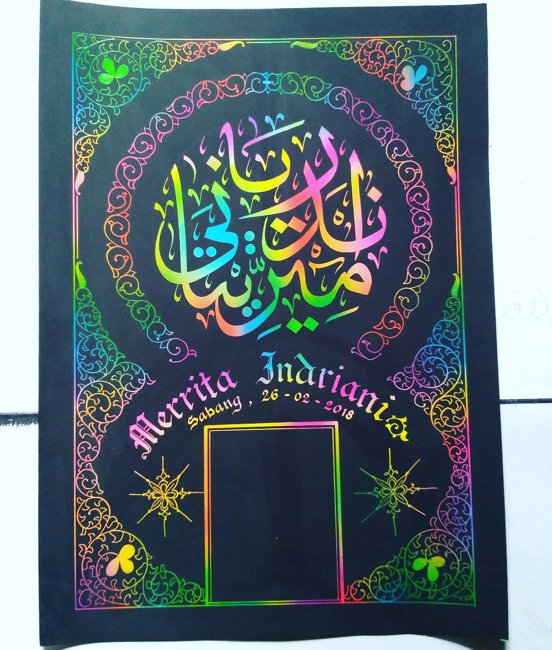 Works Calligraphy Taufik Hasibuan Minat…! Hubungi. … 24