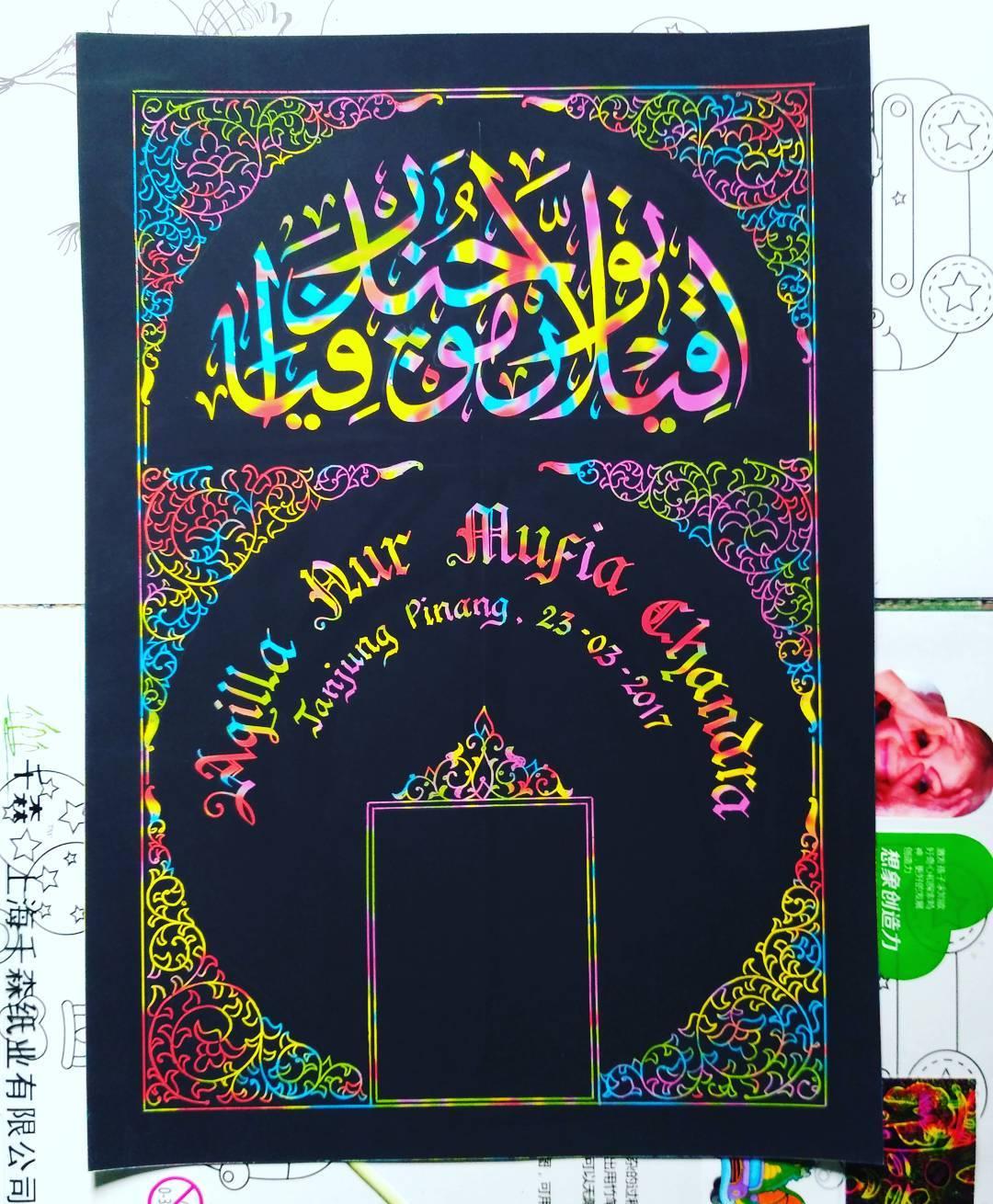 Works Calligraphy Taufik Hasibuan Minat…! Hubungi… … 33