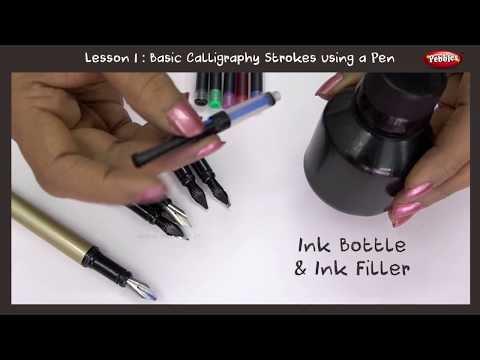 Download Video Calligraphy For Beginners Full Course | Calligraphy With Pen | Hand Lettering