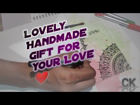 Download Video Calligraphy Mandala Art for Couple | Brush Pen Calligraphy | Handmade | Art Time-lapse