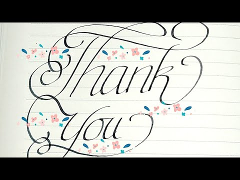 Download Video How to write calligraphy words using parker pen/Best handwriting/master handwriting