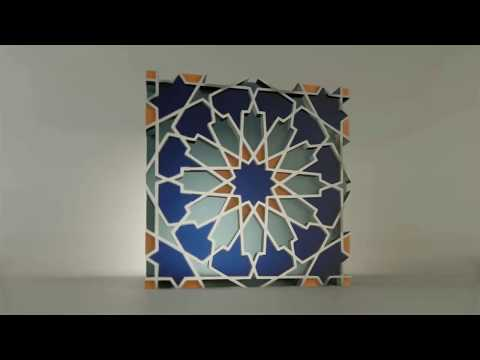 Download Video Islamic Pattern using blender and inkscape