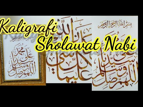 Download Video MEMBUAT KALIGRAFI SHOLAWAT NABI