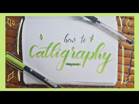 Download Video Mình Đã Tập Viết Calligraphy Như Thế Nào? (Không cần brush pen cũng viết được calligraphy?)