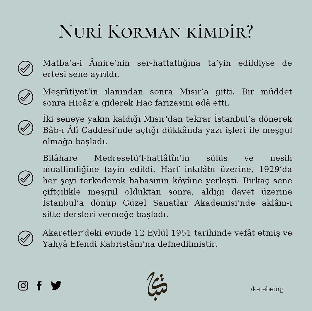 Apk Website For Arabic Calligraphy Vefatının 69. sene-i devriyesinde Beşiktaşlı Hattat Hacı Nuri Korman Beyefendi'y... 238 3